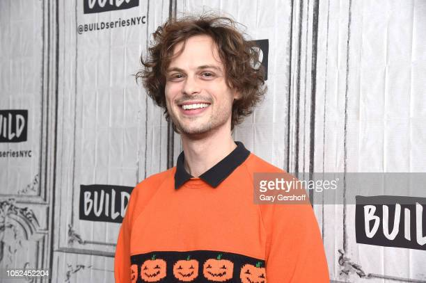 Actor and director Matthew Gray Gubler visits Build Series to discuss the TV show 'Criminal Minds' at Build Studio on October 18 2018 in New York City