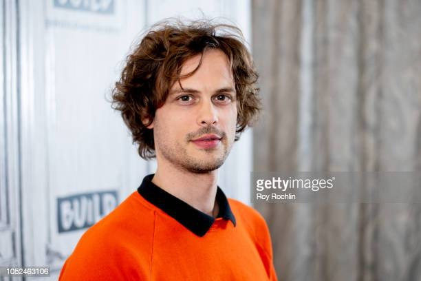 Actor and director Matthew Gray Gubler visits Build Series to discuss the TV show Criminal Minds with the Build Series at Build Studio on October 18...