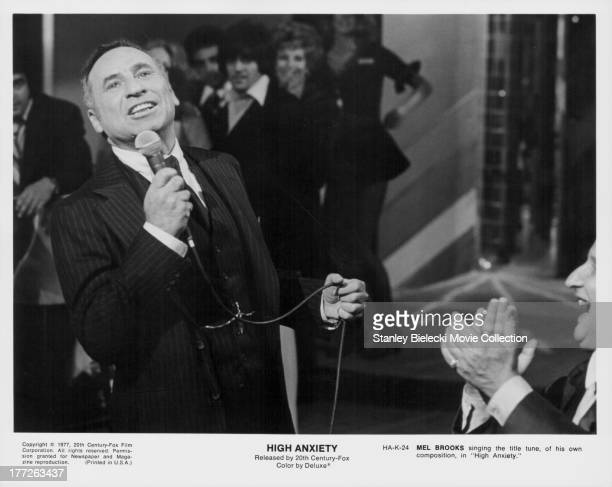 Actor and director Mel Brooks in a scene from the movie 'High Anxiety' 1977