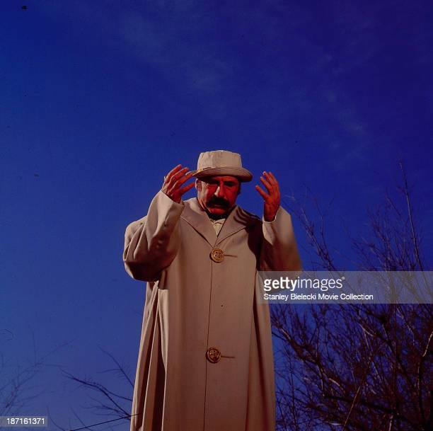 Actor and director Mel Brooks in a scene from the movie 'Silent Movie' 1976