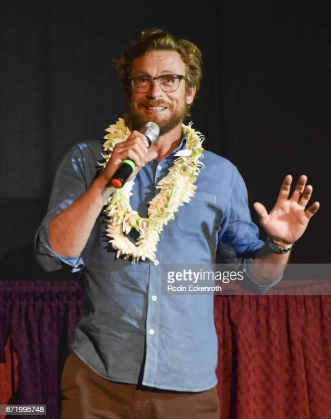 Actor and director of 'Breath' Simon Baker during the 37th Annual Hawaii International Film Festival presented by Halekulani on November 08 2017 in...