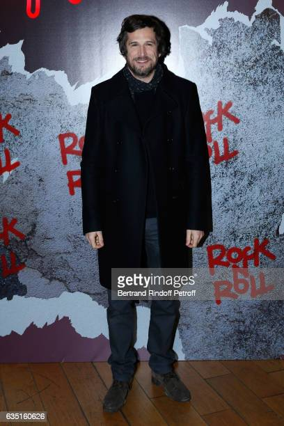 Actor and Director of the movie Guillaume Canet attends the 'Rock'N Roll' Premiere at Cinema Pathe Beaugrenelle on February 13 2017 in Paris France