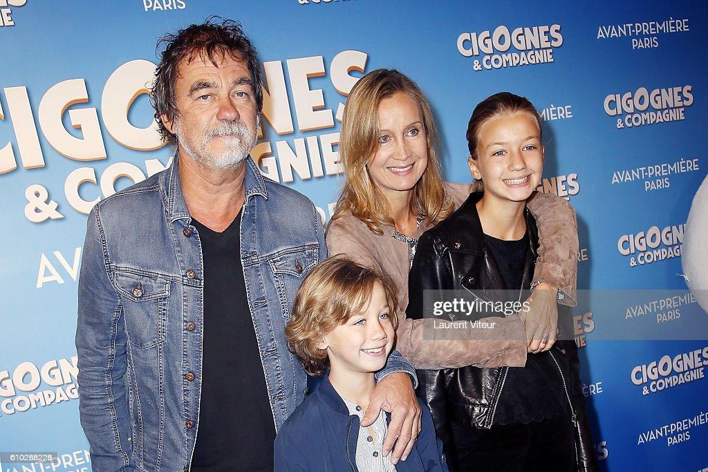 """""""Cigognes & Compagnie"""" Paris Premiere At Cinema Gaumont Capucines"""