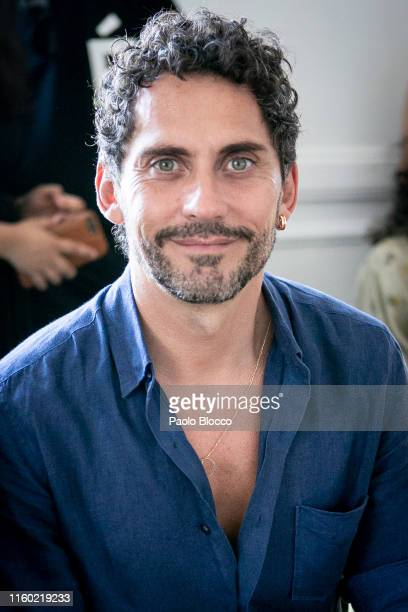 Actor and director Paco Leon attends the Carlota Barrera fashion show during the Mercedes Benz Fashion Week Autumn/Winter 2019-2020 on July 05, 2019...