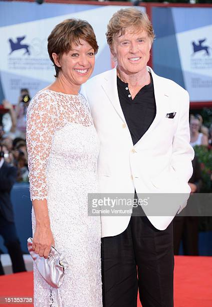 Actor and director Robert Redford and his wife Sibylle Szaggars attends The Company You Keep Premiere during The 69th Venice Film Festival at the...