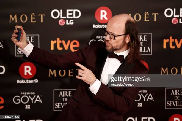 Actor and director Santiago Segura attends the 32th edition of the Goya Awards ceremony in Madrid Spain on February 04 2018