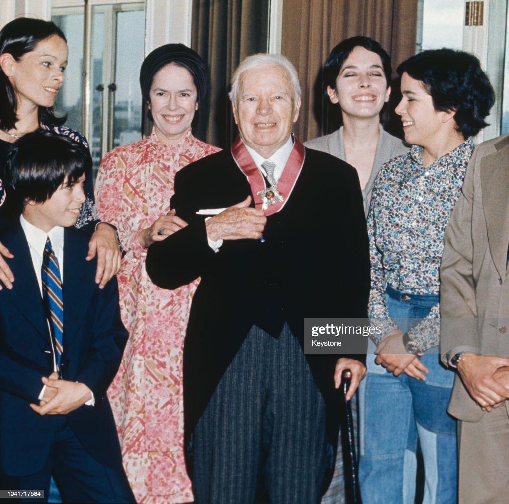 Chaplin Family : News Photo