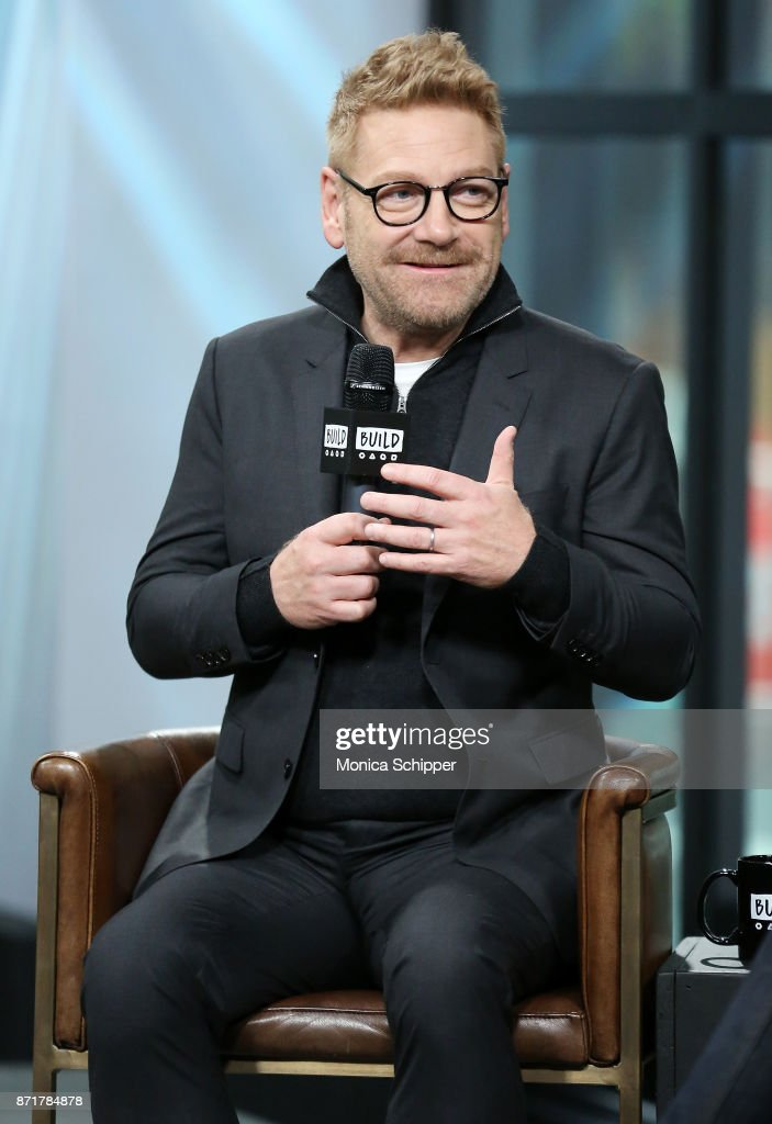 """Build Presents Kenneth Branagh Discussing """"Murder on the Orient Express"""""""