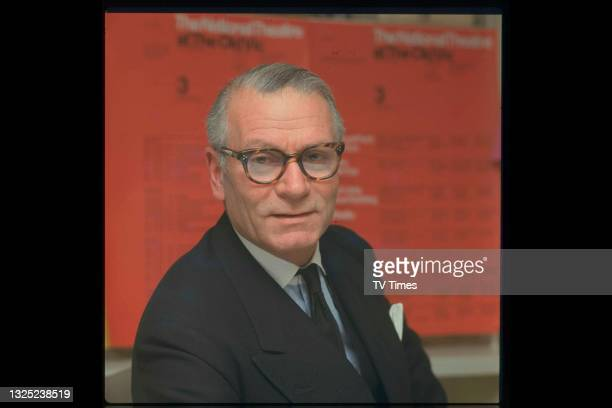 Actor and director Sir Laurence Olivier, circa 1967.
