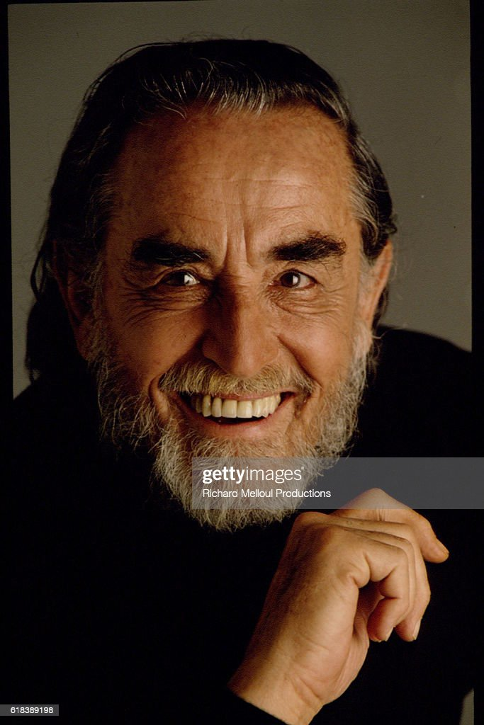 Actor and Director Vittorio Gassman : Photo d'actualité