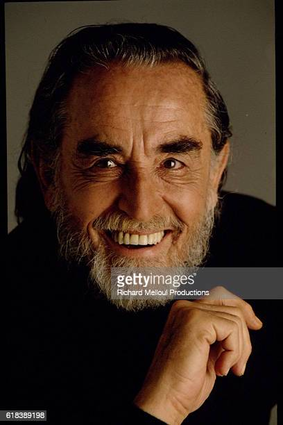 Actor and Director Vittorio Gassman