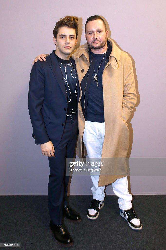 Louis Vuitton : Backstage - Paris Fashion Week - Menswear F/W 2016-2017