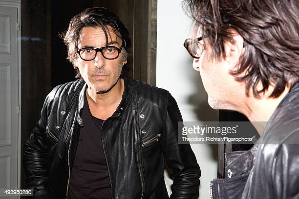 Actor and director Yvan Attal is photographed for Madame Figaro on August 27 2015 in Paris France Jacket tshirt PUBLISHED IMAGE CREDIT MUST READ...