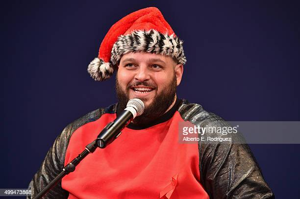 Actor and ETAF Ambassador Daniel Franzese performs at the special event held at UCLA to commemorate World AIDS Day on December 1 2015 in Los Angeles...