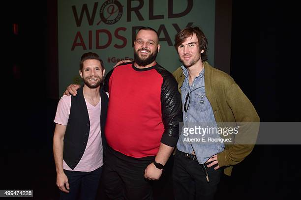 Actor and ETAF Ambassador Danny Pintauro Actor and ETAF Ambassador Daniel Franzese and Tarquin Wilding grandson of Elizabeth Taylor attend the...