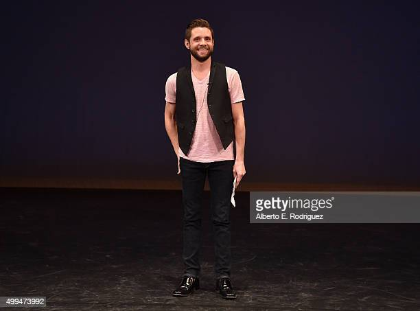 Actor and ETAF Ambassador Danny Pintauro speaks at the special event held at UCLA to commemorate World AIDS Day on December 1 2015 in Los Angeles CA