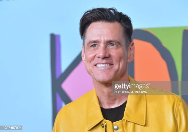 Actor and Executive Producer Jim Carrey arrives for the premiere of Showtime's Kidding on September 5 2018 in Hollywood California The comedy series...
