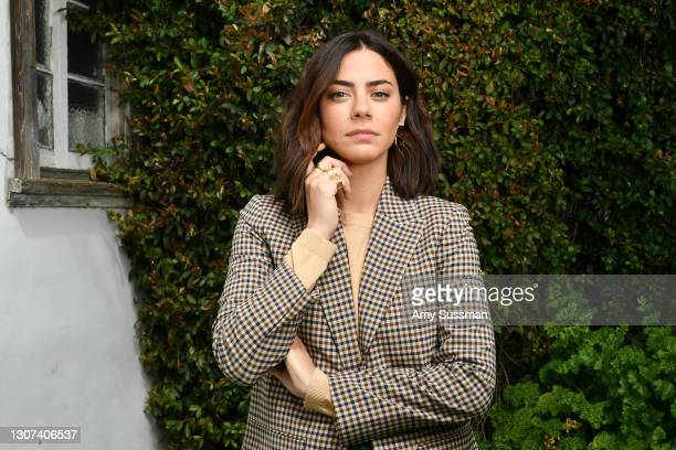 Actor and Executive Producer Lorenza Izzo of the film 'Women is Losers' poses for a portrait on March 15, 2021 in Los Angeles, CA.