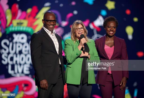 Actor and Executive Producer of EIF Presents XQ Super School Live Julius Tennonon President and CEO EIF Lisa Paulsen and Executive Producer of EIF...