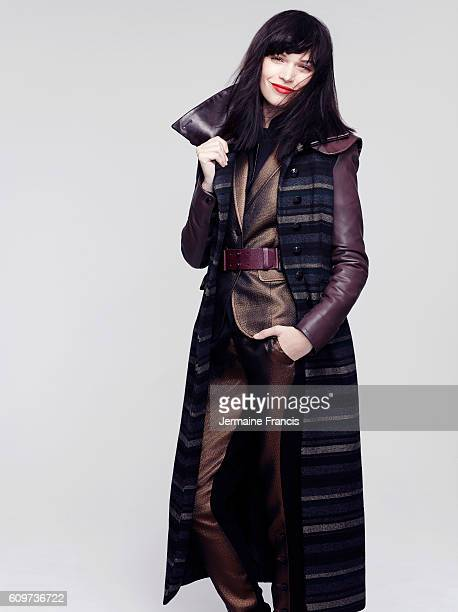 Actor and fashion model Anna Brewster is photographed on August 26 2012 in London England