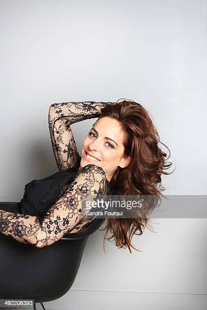 Actor and film director Audrey Dana is photographed on April 18 2014 in Paris France