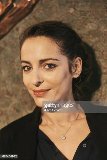 Actor and film director Audrey Dana is photographed on February 16 2017 in Paris France