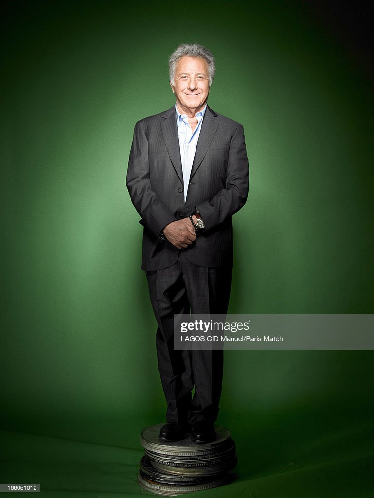 Actor and film director Dustin Hoffman is photographed for Paris Match on March 25, 2013 in Paris, France.