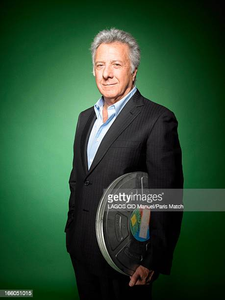 Actor and film director Dustin Hoffman is photographed for Paris Match on March 25 2013 in Paris France