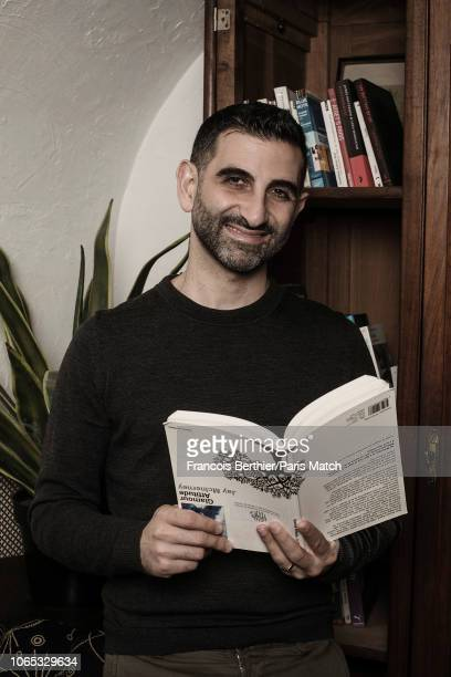 Actor and film director Kheiron is photographed for Paris Match on November 13 2018 in Paris France