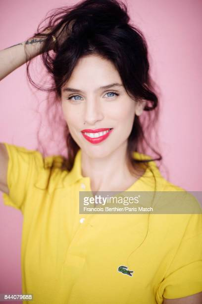 Actor and film director Maiwenn Le Besco is photographed for Paris Match on August 23 2017 in Paris France