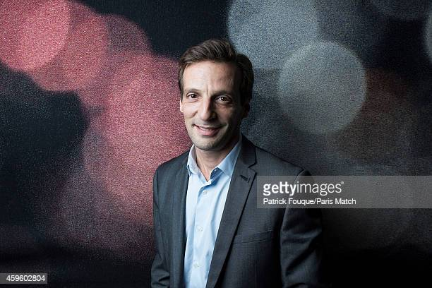 Actor and film director Mathieu Kassovitz is photographed for Paris Match on November 5, 2014 in Paris, France.