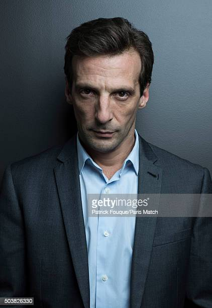 Actor and film director Mathieu Kassovitz is photographed for Paris Match on November 5 2014 in Paris France
