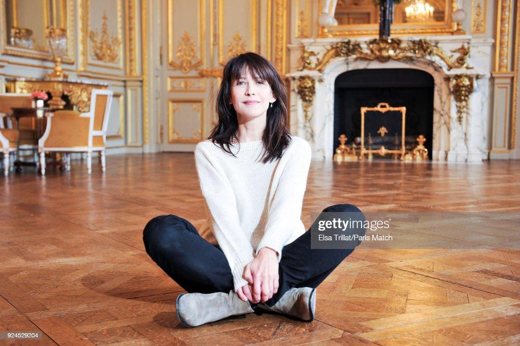 Sophie Marceau, Paris Match Issue 3589, February 28, 2018