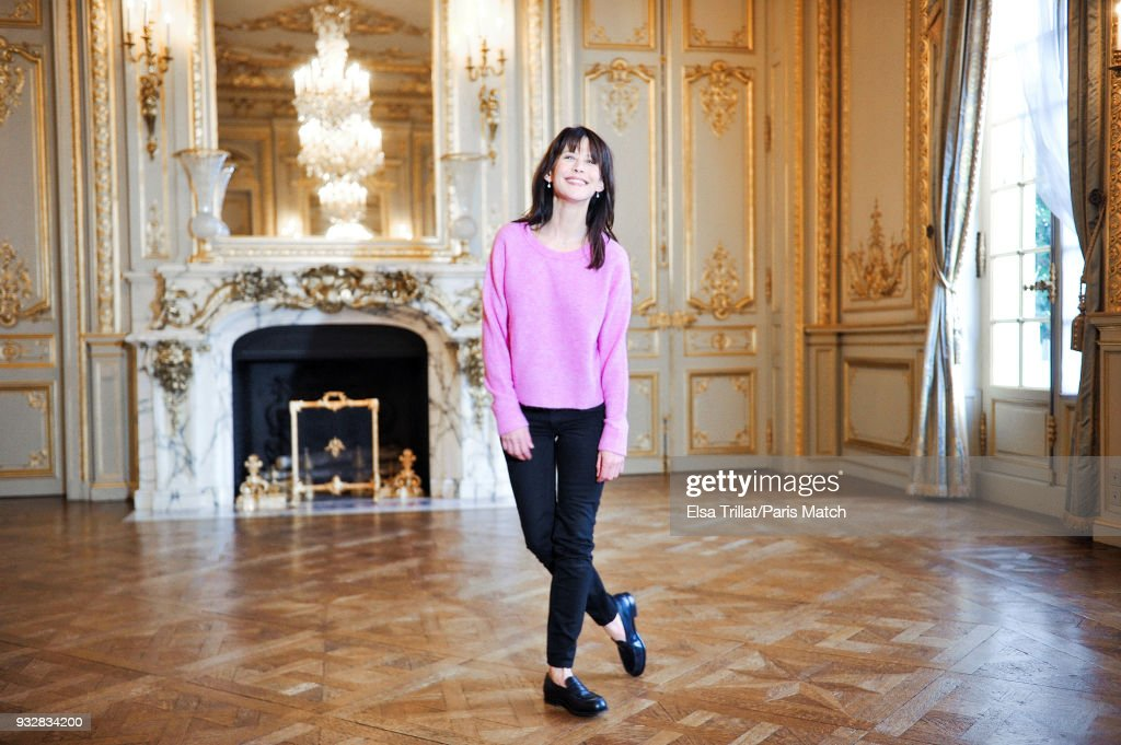 Actor and film director Sophie Marceau is photographed for Paris Match on February 2, 2018 in Paris, France.