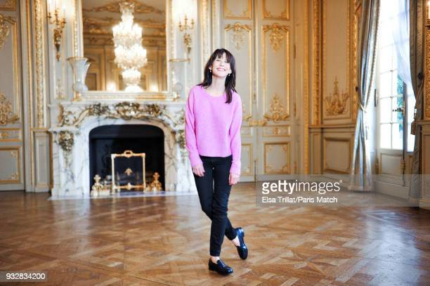Actor and film director Sophie Marceau is photographed for Paris Match on February 2 2018 in Paris France