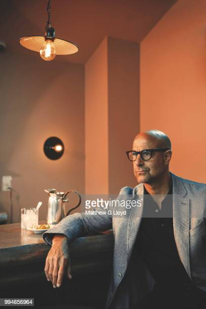 Actor and film director Stanley Tucci is photographed for the Los Angeles Times on April 24 2017 in London England