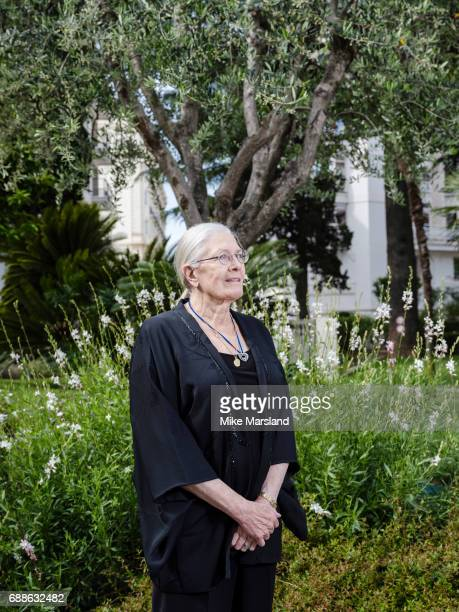 Actor and film director Vanessa Redgrave is photographed for the Observer on May 18 2017 in Cannes France