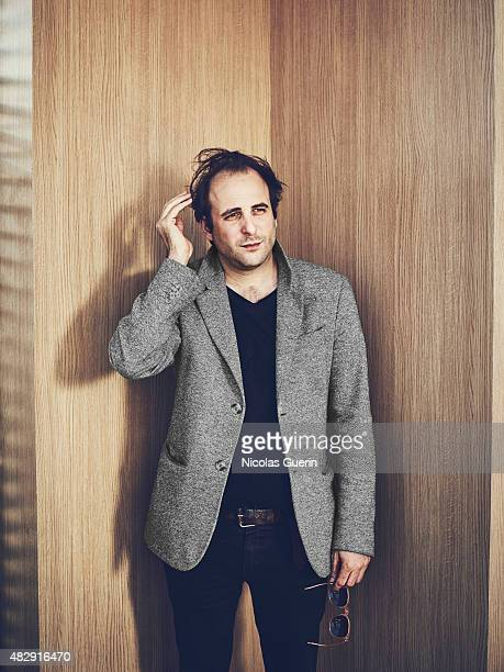 Actor and film director Vincent Macaigne is photographed on May 18 2015 in Cannes France