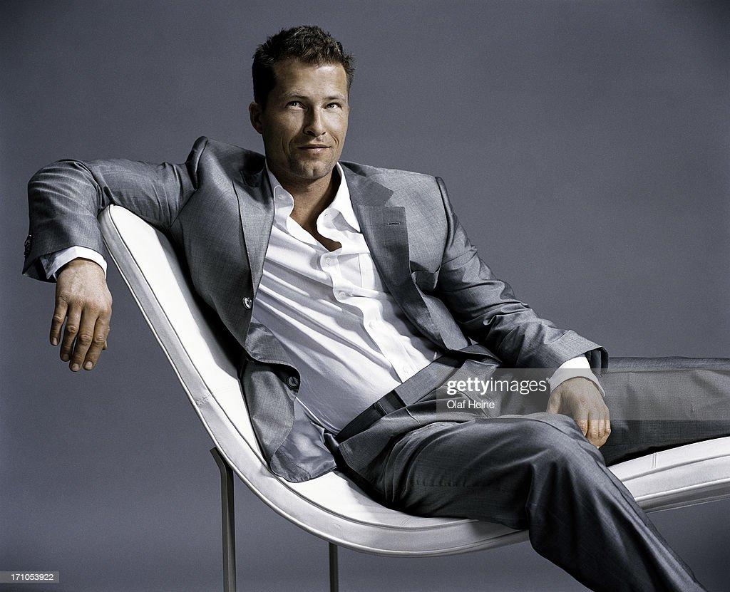 Actor and film maker Til Schweiger is photographed on ...