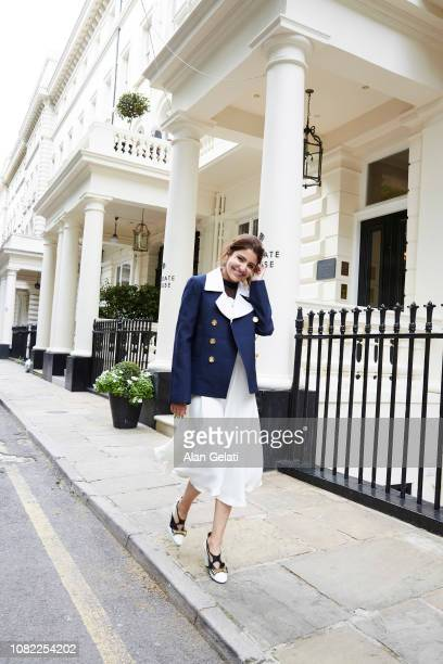 Actor and film producer Anushka Sharma is photographed for Harpers Bazaar on July 18 2018 in London England