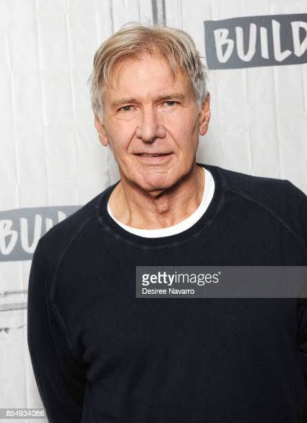 Actor and film producer Harrison Ford attends Build to discuss 'Blade Runner 2049' at Build Studio on September 27 2017 in New York City