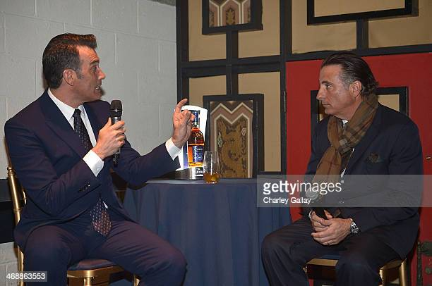 Actor and filmmaker Andy Garcia and Martell Brand Ambassador Erik Carrion host a QA about Garcia's newest film collaboration with Martell at the...