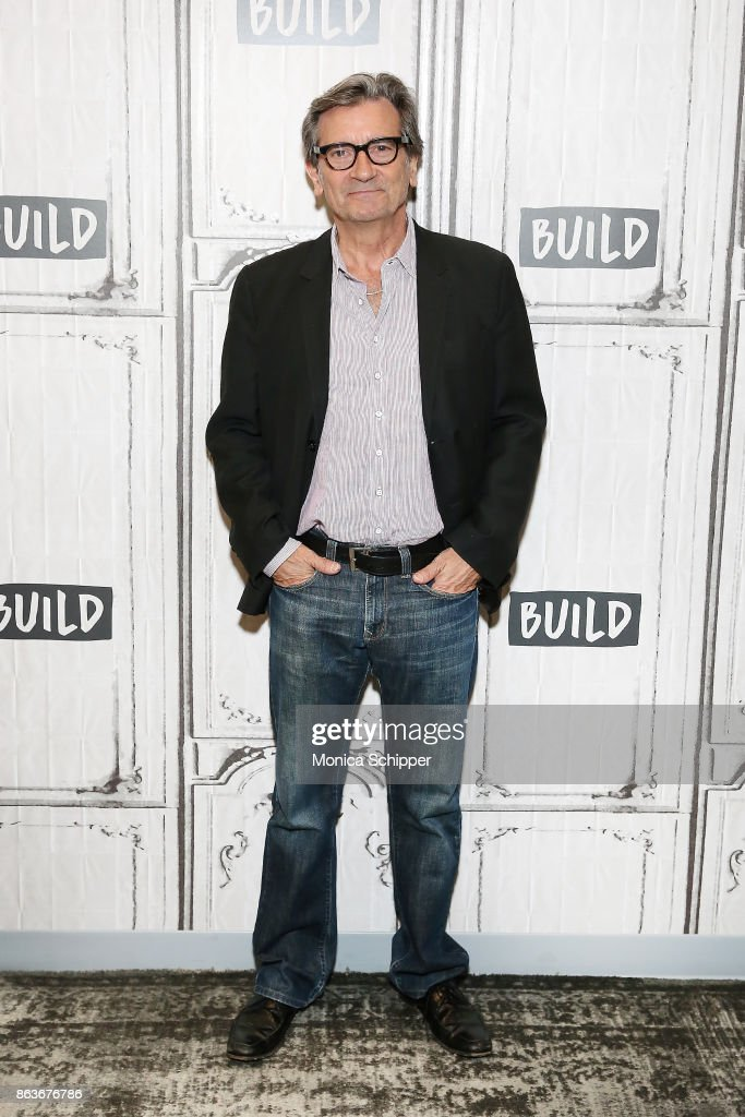 Actor and filmmaker Griffin Dunne discusses the film 'Joan Didion: The Center Will Not Hold' at Build Studio on October 20, 2017 in New York City.