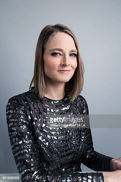 Actor and filmmaker Jodie Foster poses for a portrait at the 2016 AMD British Academy Britannia Awards presented by Jaguar Land Rover and American...