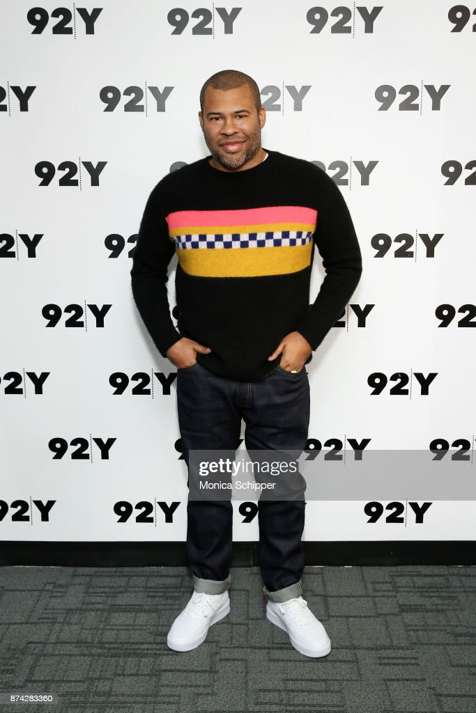 Actor and filmmaker Jordan Peele attends 92Y Presents Get Out: Jordan Peele In Conversation With Seth Meyers at 92nd Street Y on November 14, 2017 in New York City.