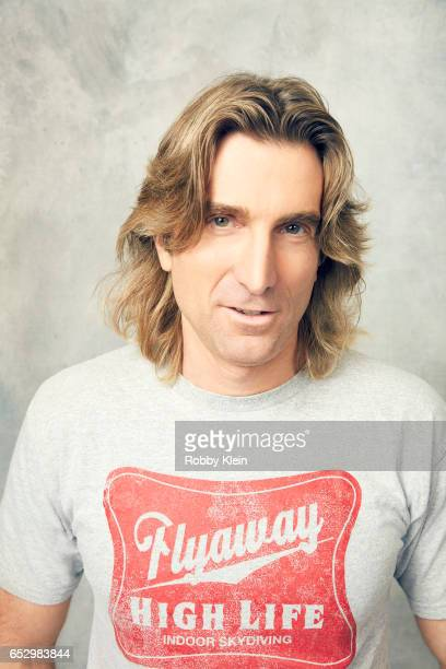 Actor and filmmaker Sharlto Copley of 'Free Fire' poses for a portrait at The Wrap and Getty Images SxSW Portrait Studio on March 12 2017 in Austin...