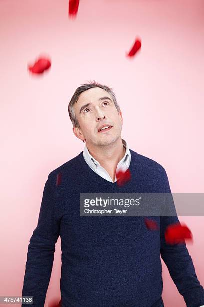 Actor and filmmaker Steve Coogan is photographed for Entertainment Weekly Magazine on January 25 2014 in Park City Utah