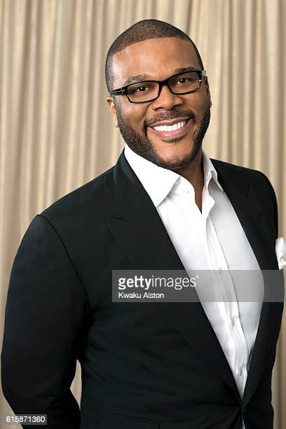 Actor and filmmaker Tyler Perry is photographed at the Black Men in Hollywood Dinner for Essence Magazine on February 2 2006 in Hollywood California