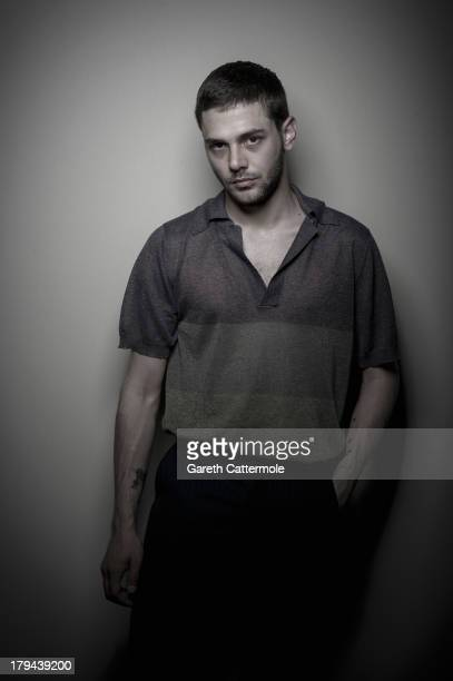 Actor and filmmaker Xavier Dolan during a portrait session at the 70th Venice International Film Festival on September 3 2013 in Venice Italy