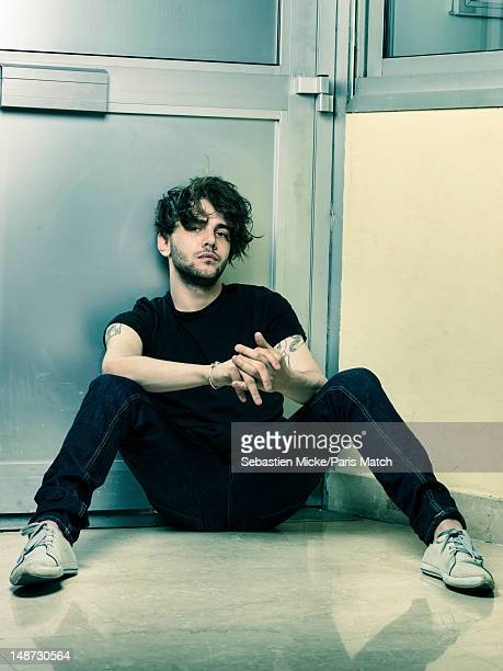Actor and filmmaker Xavier Dolan is photographed for Paris Match on May 17 2012 in Cannes France